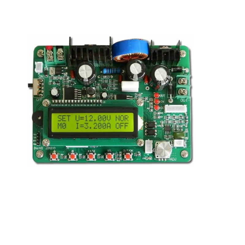 DC-DC high power DC regulated power supply 60V5A step-down module Constant current and constant voltage Multifunction lt3890 two phase dc dc power module synchronous rectifier pure step down constant voltage constant current