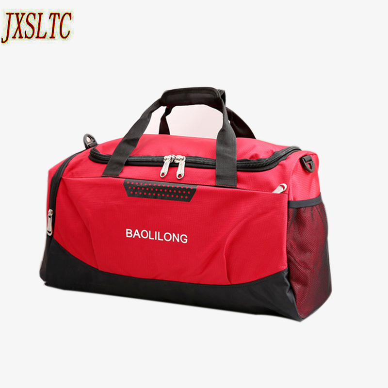 ee49c1a99d JXSLTC Women Travel duffle Bag Fashion Large Capacity Designer Men hand Luggage  Bags Handbag Waterproof Weekender Big Travel Bag-in Travel Bags from Luggage  ...