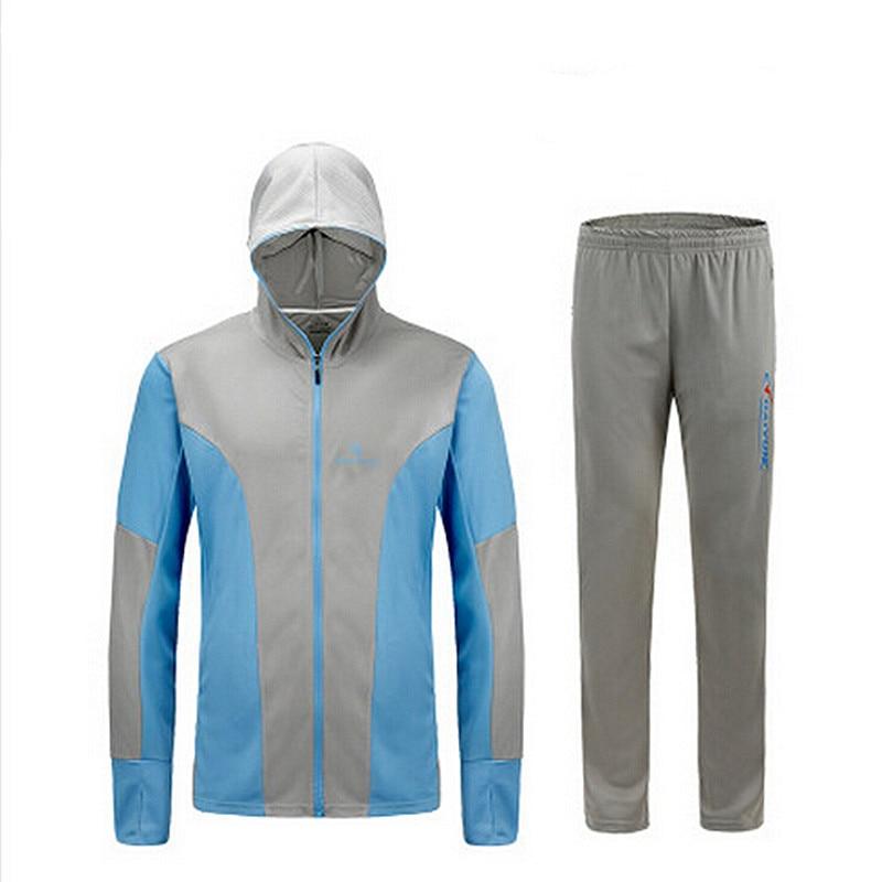 New 2018 Men Hiking fishing <font><b>clothing</b></font> sun protection <font><b>clothing</b></font> long sleeved hooded fishing shirt breathable wicking <font><b>UV</b></font> protection