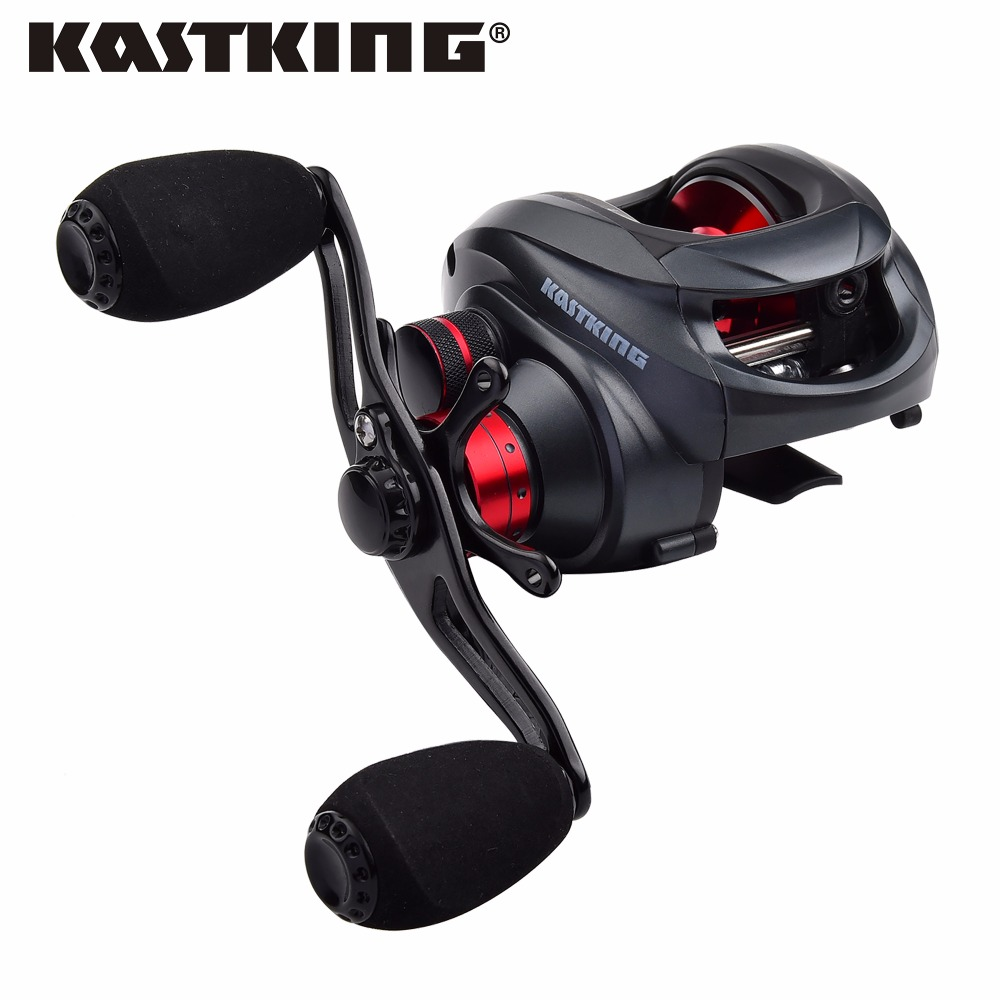 Kastking spartacus 12bbs super light baitcasting reel dual for Baitcasting fishing reels