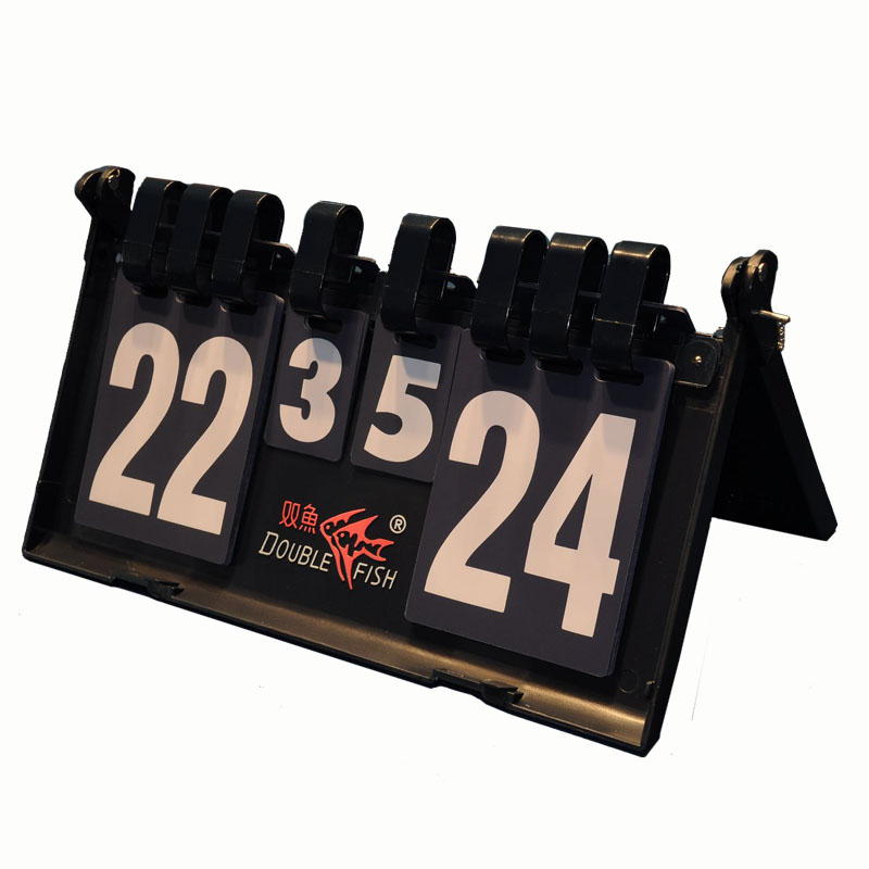 Original Double Fish Table tennis score points remark portable score board big size