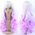 11 Colors Curly Hair Ombre Wig Cosplay Wigs Synthetic Hair Women Hair Colorful Pelucas Sinteticas