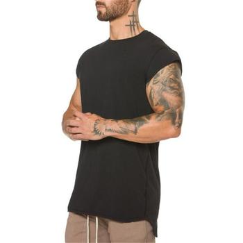 Marka bawełniana koszulka na siłownię koszulka sportowa koszulka męska koszulka z krótkim rękawem koszulka treningowa koszulka treningowa koszulka Fitness sportowa koszulka Rashgard tanie i dobre opinie FITNESS SHARK CN (pochodzenie) Wiosna AUTUMN summer COTTON Pasuje prawda na wymiar weź swój normalny rozmiar O-neck Short sleeve shirts