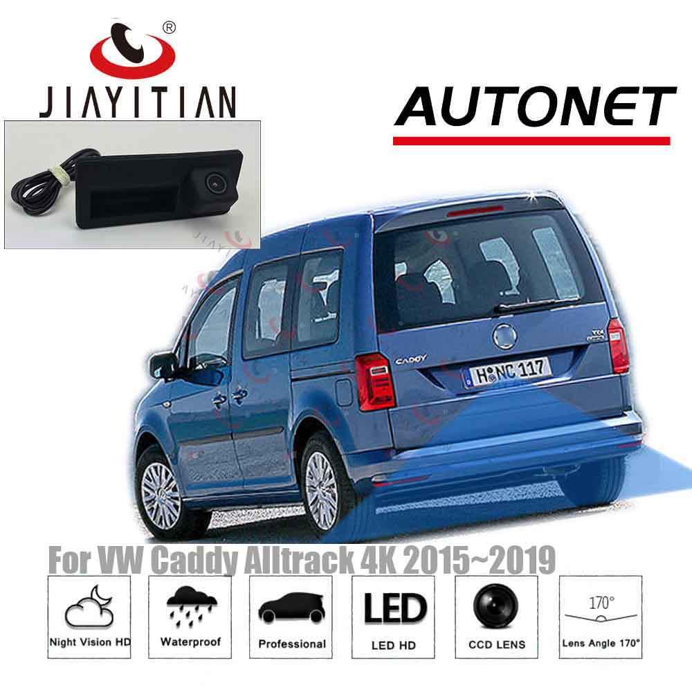 JIAYITIAN Rear View Camera For Volkswagen Vw Caddy 2015 2016 2017 2018 2019 HD Trunk Handle Camera/Reverse Camera/backup Camera
