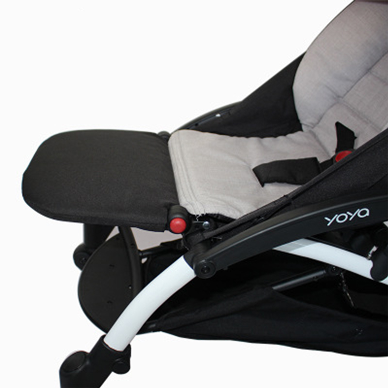 Baby Stroller Accessories Footrest Baby Throne Infant Carriages 21Cm Feet Extension Pram Footboard Yoya Accessories
