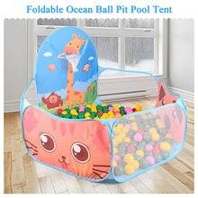 135c35a70 Portátil bebé niños de interior al aire libre de la piscina tienda niños  seguro plegable Corralitos juego PISCINA DE BOLAS para .
