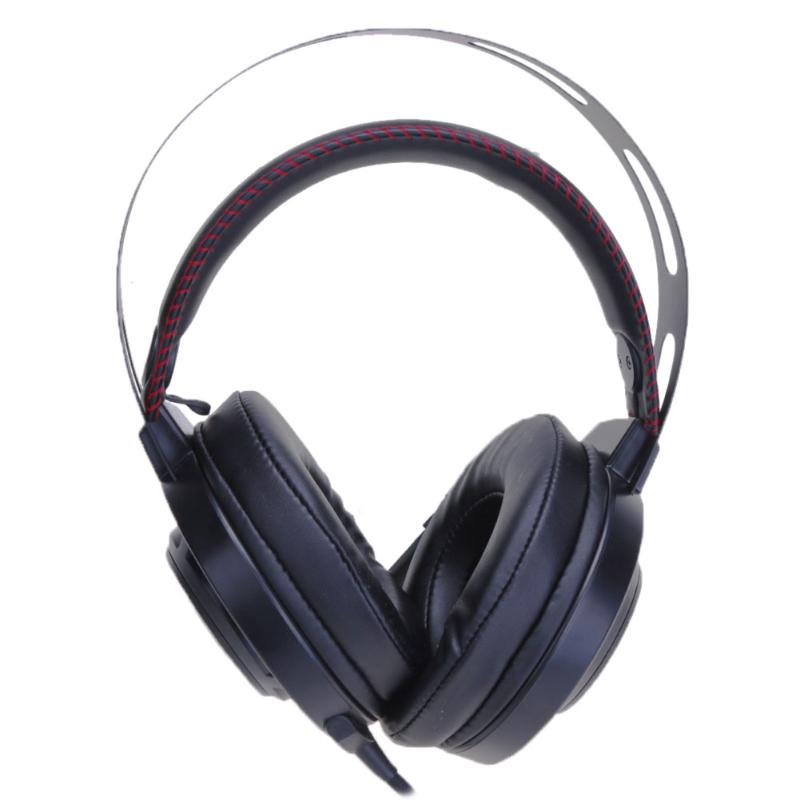 2.2m Wired 3.5mm/USB Plug Headset Gaming Headphone with LED Light Microphone for Computer Casque Bass Stereo Earphones Headsets