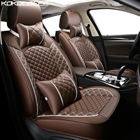 Kokololee Special Leather Car Seat Covers For Citroen All Models C4 C5 C2 C3 Drain BLACK