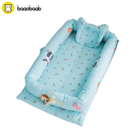 BAAOBAAB Portable Baby Crib Infant Toddler Cradle Cot For Newborn Nursery Travel Folding Baby Nest Baby Bed For Baby Care