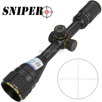 SNIPER NT 3 15X44 AOGL Hunting Riflescopes Tactical Optical Sight Full Size Glass Etched Reticle RGB Illuminated Rifle Scope