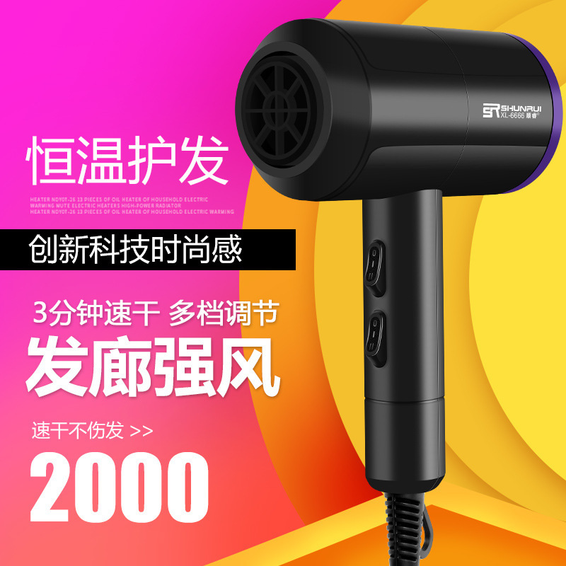 LDXH11-XL-6666,Hair dryer, household high power, negative ion constant temperature, no damage generator, hairdryer. xypanda зеленый xl no