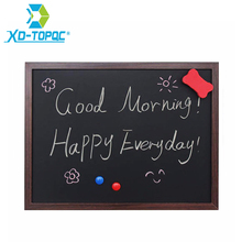 XINDI 2017 New 35*45cm MDF Wooden Frame Blackboard Magnetic ChalkBoard 5 Colors Home Decorative Message Board Free Shipping