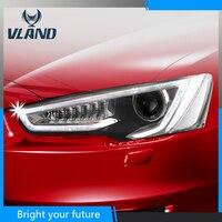 Head Lamp Headlights For Mitsubishi Lancer EX lightbar 2008 2009 2010 2011 2012 2013 2014 Headlight Headlamp