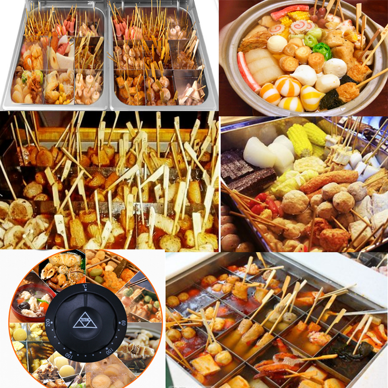 цена на Free shipping Made In China Snack Equipment Oden Machine Kanto Cooking Stainless Steel Oden Kanto Cooking machine For Kitchen