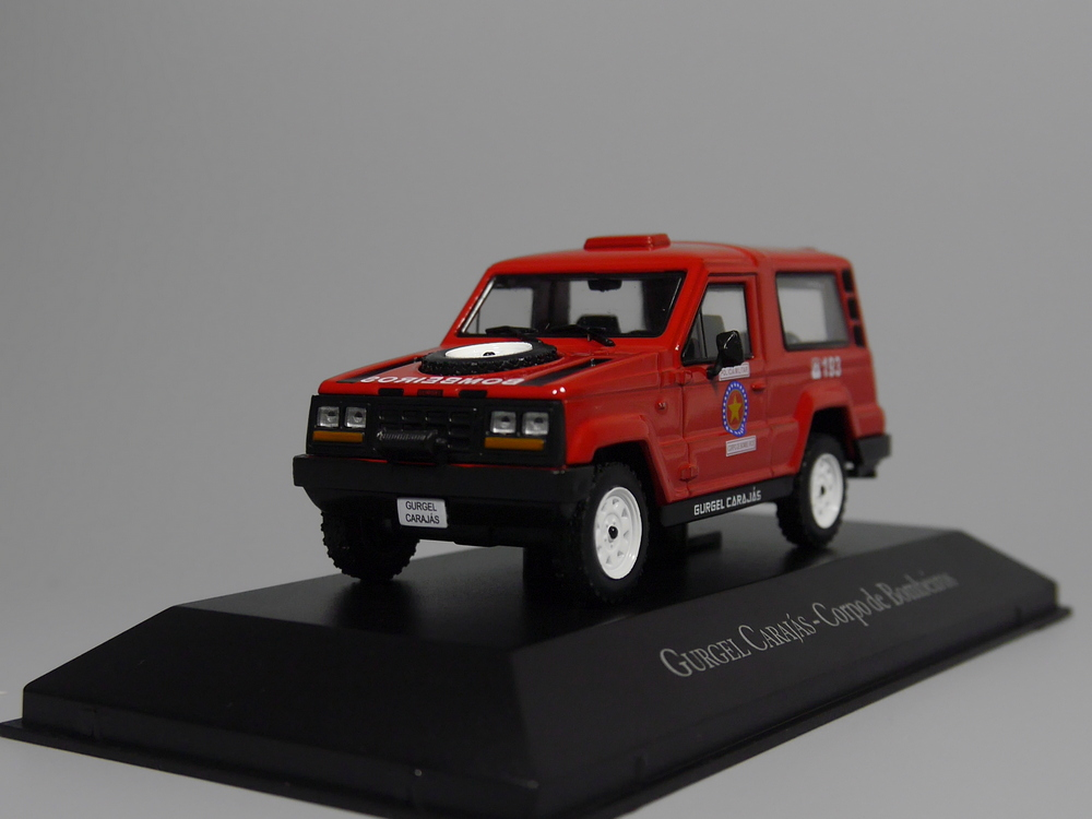 Auto Inn - ixo 1:43 Gurgel Carajas Corpo de Bombeiros Diecast model car