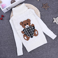 2016 new winter spring autumn Girls Kids boys Bear thick stretch sweater  comfortable cute baby Clothes Children Clothing