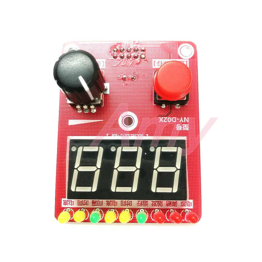 NY-D02 100A di Precisione Doppio Encoder a Impulsi Spot-Saldatore Trasformatore Regolatore di Corrente Tempo Scheda di Controllo
