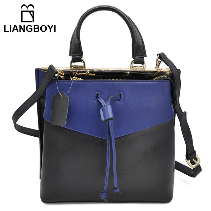 100% Women Genuine Leather Bag Color Matching Handbag Shoulder Bag Messenger Bag High Quality Tassel Simple Ladies 2016 New фильтр для воды новая вода twin h370 white