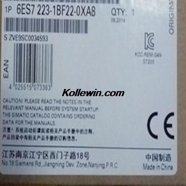 Free shipping S7-200CN, EM222, 6ES7223-1BF22-0XA8,6ES7 223-1BF22-0XA8,6ES72231BF220XA8,100% original and New,hot selling 6es7284 3bd23 0xb0 em 284 3bd23 0xb0 cpu284 3r ac dc rly compatible simatic s7 200 plc module fast shipping