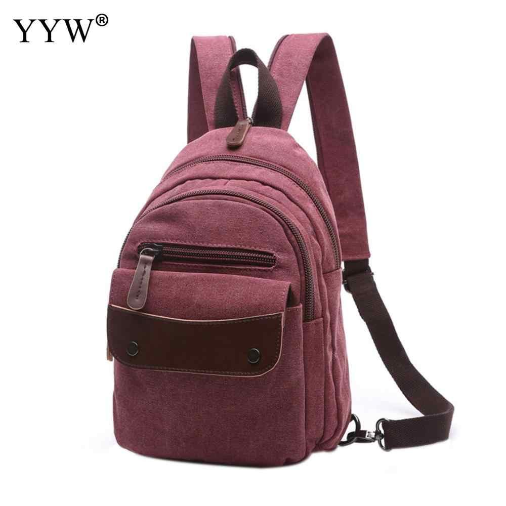 Yyw холщовые женские винтажные Ретро прочные рюкзаки кофейные повседневные сумки на плечо женские 2018 мужские рюкзаки цвета хаки