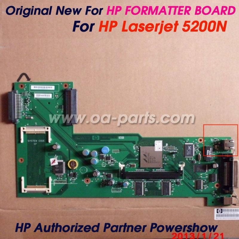 Original New For HP5200N HP5200dtn HP5200dn HP5200 Formatter Board Logic Board Main board  Q6498-60001 Q6498-69002 printer parts trek planet matrix 25 черный 70522