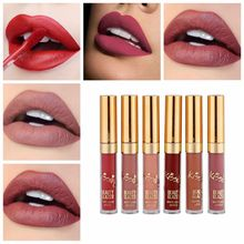 BEAUTY GLAZED MISS ROSE Makeup Lipstick Matte Waterproof Liquid Sexy Long Lasting Moisture Cosmetic Beauty makeupTools