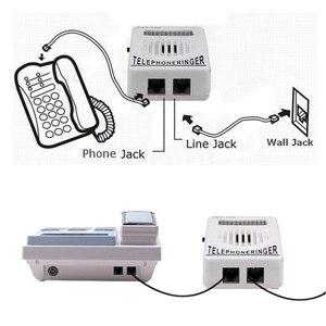 Image 5 - AMPLIFICADOR DE anillo de teléfono con timbre Extra fuerte, 95dB, ayuda a la campana estroboscópica, sonido fijo