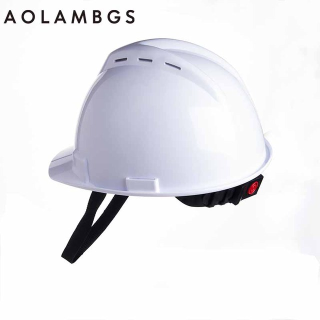 Safety Helmet Construction Head Protection Hard Hat Work Cap Industrial Engineering Work Wear Shockproof ABS Insulation Material