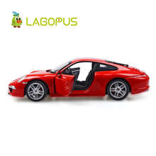 купить High Simulation 1:24 Scale Car Toys 911 Metal Diecast Cars Vehicle Model Toy Collection Gift for Kids New дешево