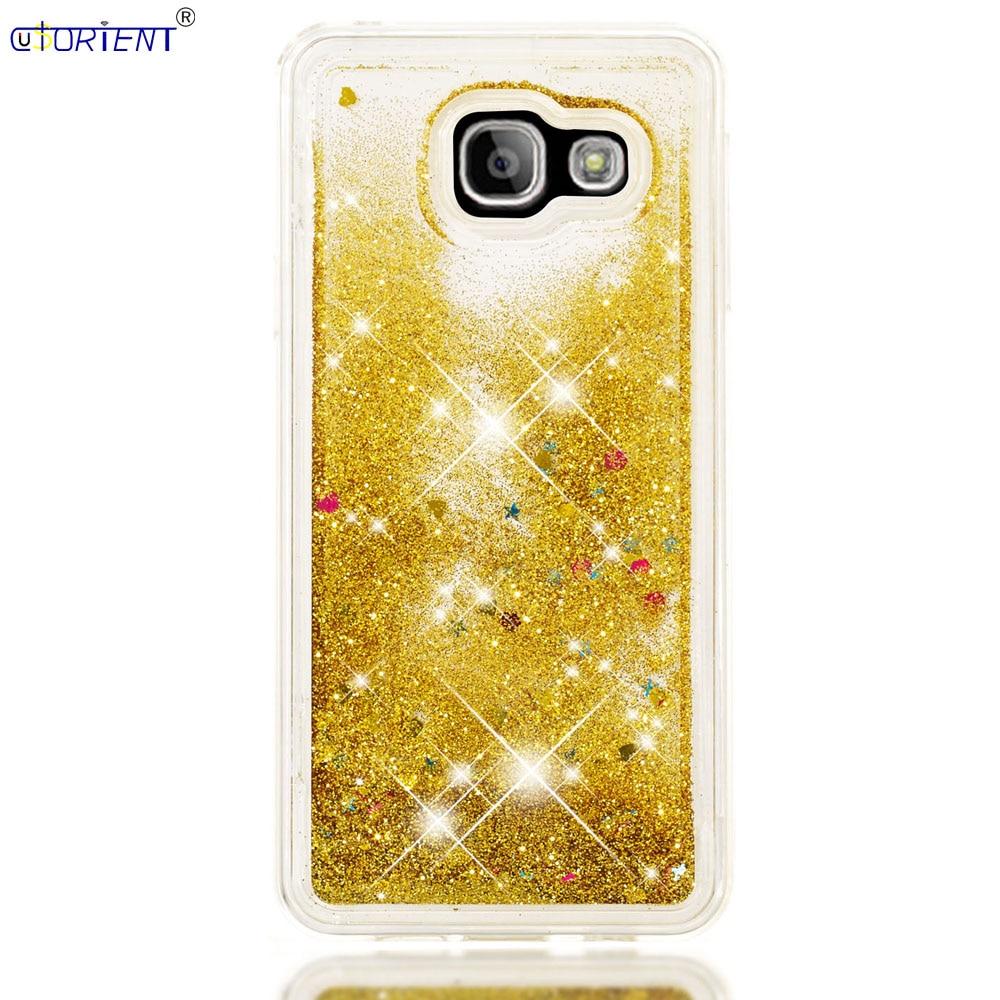 For Samsung Galaxy A3 2016 A36 Dynamic Liquid Quicksand Case Sm A310f A310f/ds A310y A310m/ds A310x Soft Silicone Bumper Cover Phone Bags & Cases