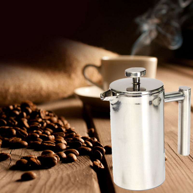 350ml Coffee Machine Cafetiere French Press With Filter Doublewall ...