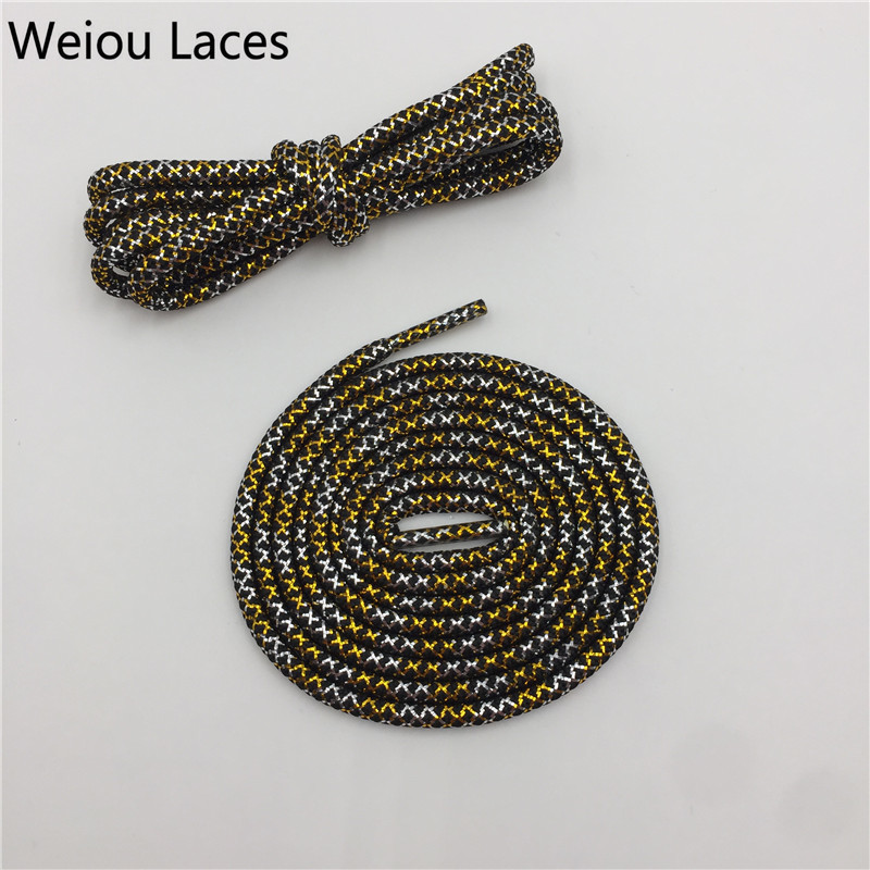 Shoes Shoe Accessories Official Weiou New Fashion Flat Glitter Shiny Gold Silver Bootlaces Metallic Yarn Striped Shoe Laces Cool For Dress Shoelaces