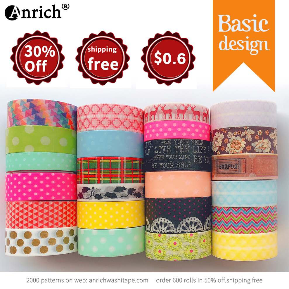 Free Shipping and Coupon washi tape,Washi tape,basic design,Optional collocation,on sale,#6635-6659
