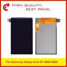 """10 قطعة/الوحدة الأصلي 4.3 """"لسامسونج غالاكسي كور i8260 i8262 8260 8262 شاشة الكريستال السائل شاشة الأصلي OEM جودة"""