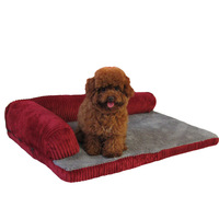 Luxury dog house bed pet blanket detachable washed pet supplies sofa cat blanket dog luxurious home best selling pet supplies