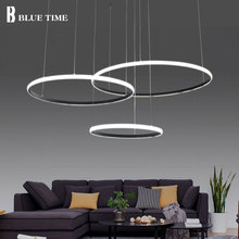 Latest design Acrylic Modern Led Ceiling Lights For Living Room Bedroom White Black Led Home Ceiling Lighting Fixtures AC85-260V