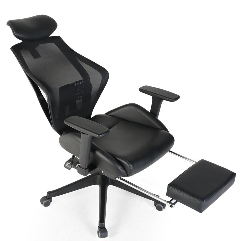 Computer Chair Office Seat Boss Seat Ergonomic Backrest Waist Support Chair Household Reclining Chair 3D Armrest E-sports Seat