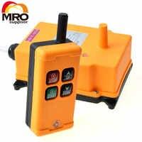 OBOHOS 1 Transmitter 4 Channels 1 Speed Control Hoist industrial wireless Crane Radio Remote Control System