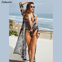 Sexy Print Cloak Bikini Body For Women Skinny Romper Bodycon Bodysuit Summer