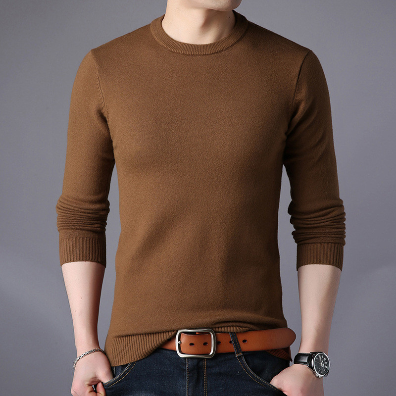 Image 4 - Free shipping New Fashion 2019 Spring Autumn men Wool Pullovers Man Sweaters Pullover-in Pullovers from Men's Clothing