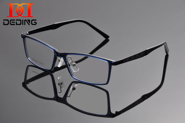 Deding 2016 мужчины очки близорукость ретро старинные оптических стекол рама марка дизайн очки óculos де грау Homens DD1239