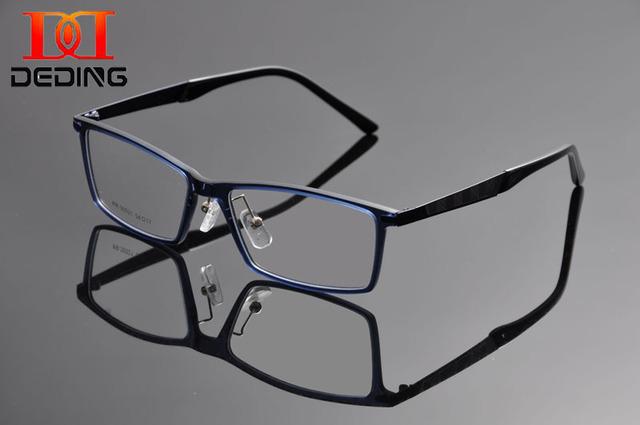 Deding 2016 Homens óculos De miopia Retro vidros ópticos Vintage Frame Homens De Design da marca Eye Glasses Oculos De Grau DD1239