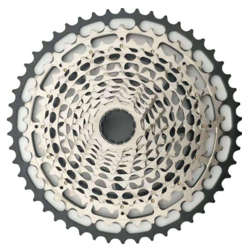 JGbike SROAD Lightweight MTB 12 Speed 10-50T Mountain Bike Cassette for SRAM XD hub Body Driver Great Replacement for ethirteen TRS SRAM Eagle GX XG-1295 XG-1275 XG-1299 XX1 X01