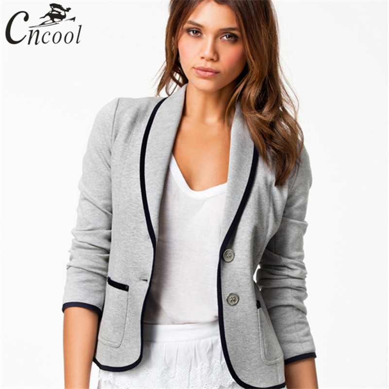 2018 Ladies Blazer Plus Size S-6xl Europe Style Wind Casual Long Sleeve Fashion Slim Thin Temperament Suit Jacket