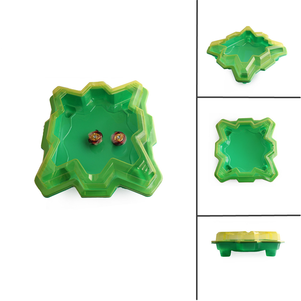 MUQGEW For Beyblade Burst Standard Bey Blade Burst Arena Disk Exciting Duel Spinning Top For Beyblades Stadium Game Gyro Disk(China)