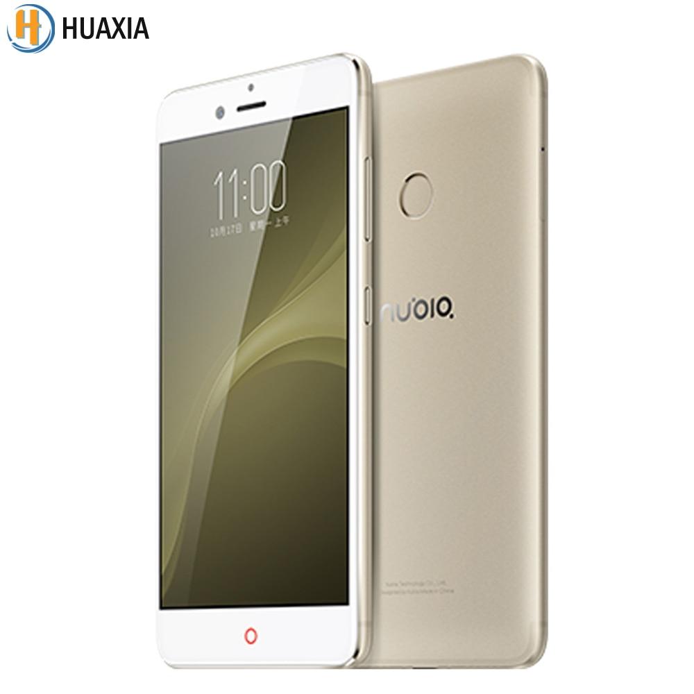 Original ZTE Nubia Z11 Mini S Phone 4GB RAM 64GB ROM 13.0MP+23.0MP Camera 5.2 inch Smartphone Android Snapdragon 625 Octa Core