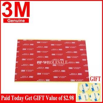 (15cm * 10cm) 3M VHB 5952 cinta adhesiva de espuma acrílica de doble cara resistente negra 150mm x 100mm x 1,1mm
