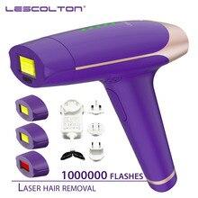 1000000 مرات Lescolton 4in1 آلة إزالة الشعر بالليزر IPL آلة إزالة Depilador الليزر نزع الشعر الدائم بيكيني للنساء