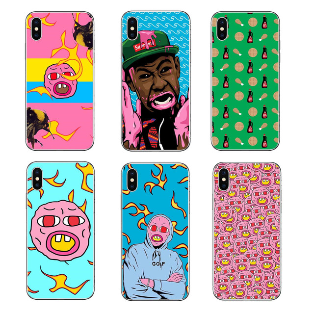3b8939631de5 GOLF Tyler The Creator OFWGKTA Odd Future Golf Wang Green Hard PC Phone  Cases For iPhone 5 5S SE 6 6S Plus 7 7Plus 8 8 Plus X 10