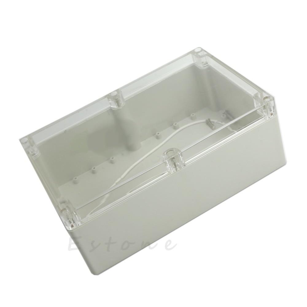 230x150x85mm Waterproof Clear Plastic Electronic Project Box Enclosure CASE-TwFi hot 230x150x85mm waterproof clear plastic electronic project box enclosure w310